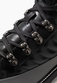 Bogner - NEW LECH - Lace-up ankle boots - black/silver - 5
