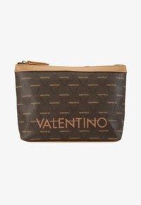 Valentino Bags - LIUTO - Toiletti-/meikkilaukku - brown/multi - 1
