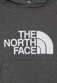 The North Face - DREW PEAK HOODIE UNISEX - Bluza z kapturem - medium grey heather - 2