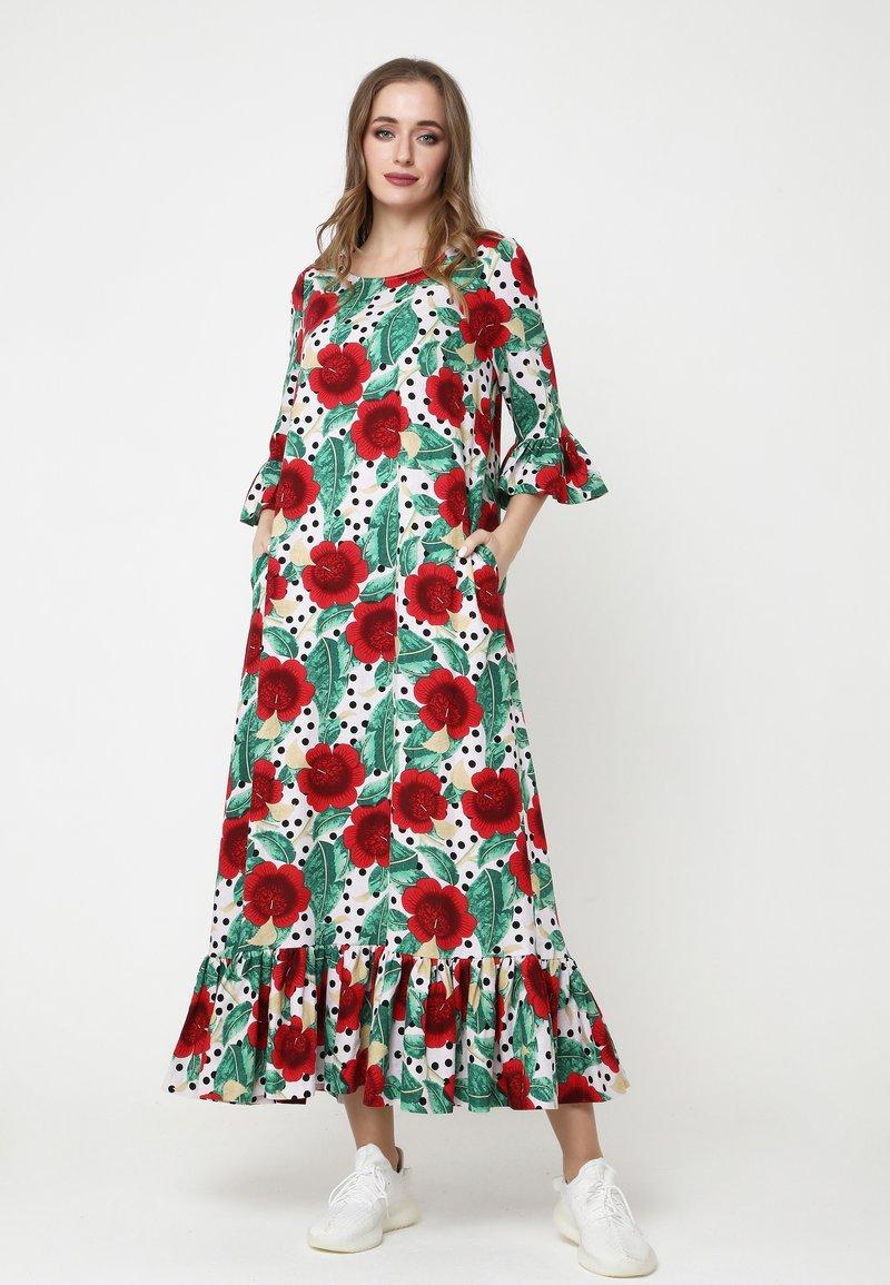 Madam-T - Maxi dress - rosa rot