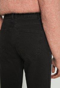 Lindex - TROUSERS BETTY - Straight leg jeans - black - 4