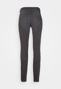 TOM TAILOR - ALEXA SLIM PRINTED - Slim fit jeans - dark grey - 1