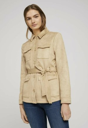 Summer jacket - hazelnut beige