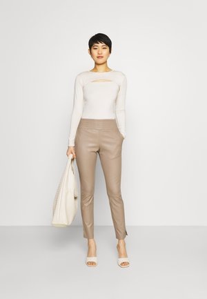 COLETTE - Trousers - taupe