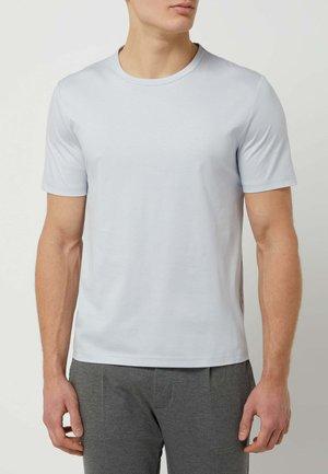 T-SHIRT AUS MODELL 'OLAF' - Basic T-shirt - hellblau