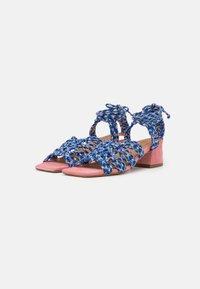 Toral - Sandals - azul/rosa/amarillo - 2