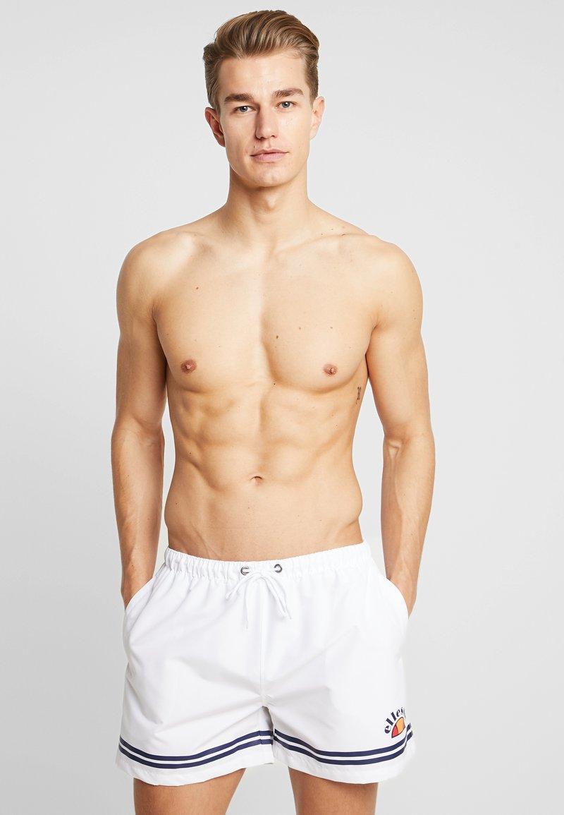 Ellesse - TORENTELLO - Shorts da mare - white