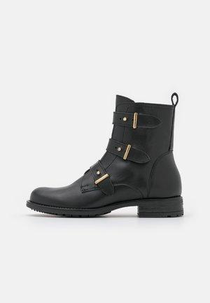 SOLYTA - Kovbojské/motorkářské boty - noir