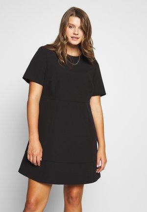 ANGELA PANEL DRESS CURVE - Denní šaty - black