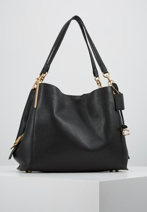 DALTON SHOULDER BAG - Handtasche - gold/black