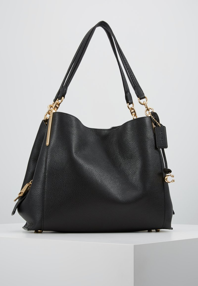 Coach - DALTON SHOULDER BAG - Handbag - gold/black