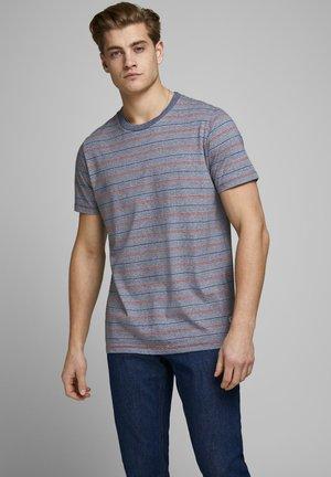 T-shirt med print - denim blue