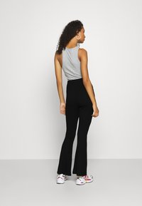 Even&Odd - Leggings - Flared Leg Trousers - Leggings - black - 2