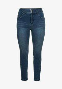 Sheego - Jeans Skinny Fit - dark blue denim - 3