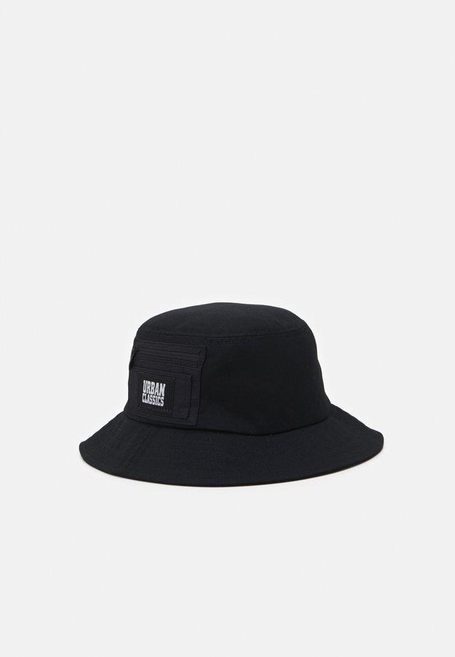 CANVAS POCKET BUCKET - Hatt - black