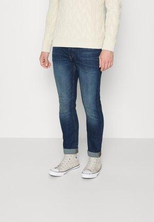 VALDE JOY - Slim fit jeans - dark vintage blue denim
