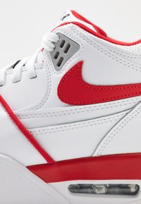 Nike Sportswear - AIR FLIGHT 89 - Korkeavartiset tennarit - white/university red - 5