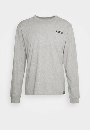 BOX - Long sleeved top - grey melange