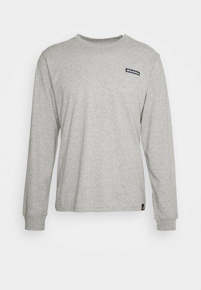 BOX - T-shirt à manches longues - grey melange
