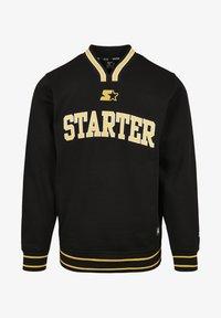 Starter - Collegepaita - black/golden - 5