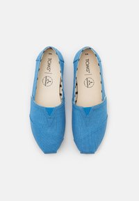 TOMS - ALPARGATA VEGAN - Slip-ons - azure blue - 5