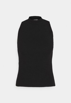 NA-KD X ZALANDO EXCLUSIVE - RIBBED - Top - black