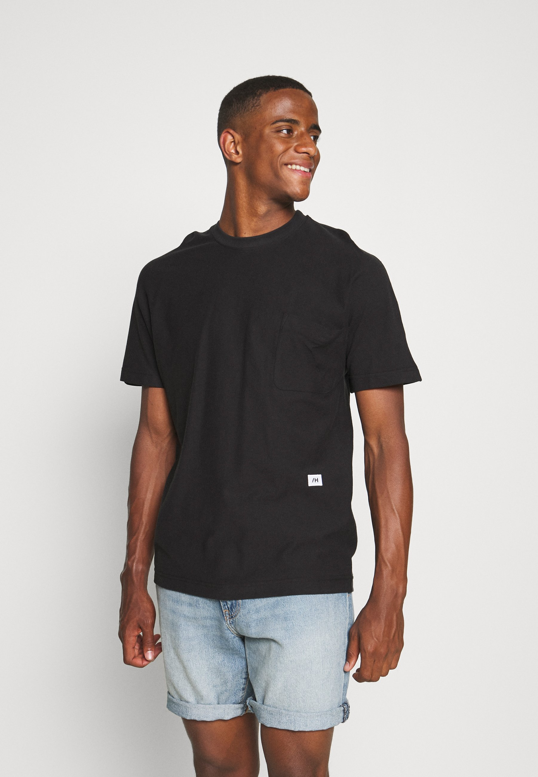 Men SLHRELAXALBION O NECK TEE - Basic T-shirt