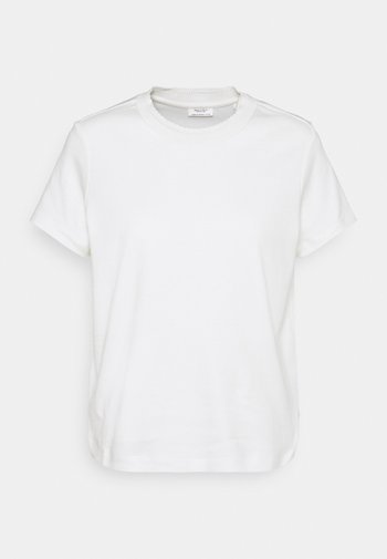 ROUNDNECK WITH SPECIAL DETAIL - T-shirt basique - scandinavian white