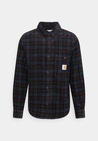 Carhartt WIP - FLINT SHIRT - Overhemd - Tobacco - 8