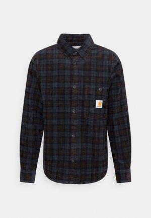 FLINT SHIRT - Overhemd - Tobacco