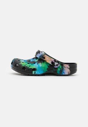 CLASSIC TIE DYE GRAPHIC UNISEX - Klapki - multicolor/black