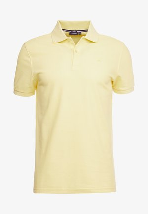 TROY CLEAN - Polo shirt - butter yellow
