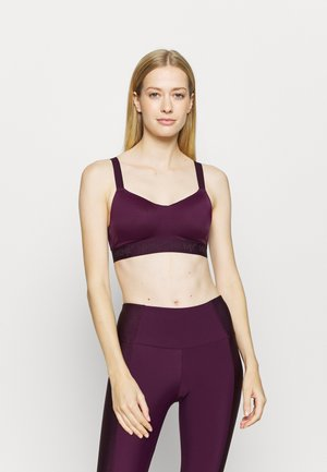THE ALL STAR  - High support sports bra - potent purple