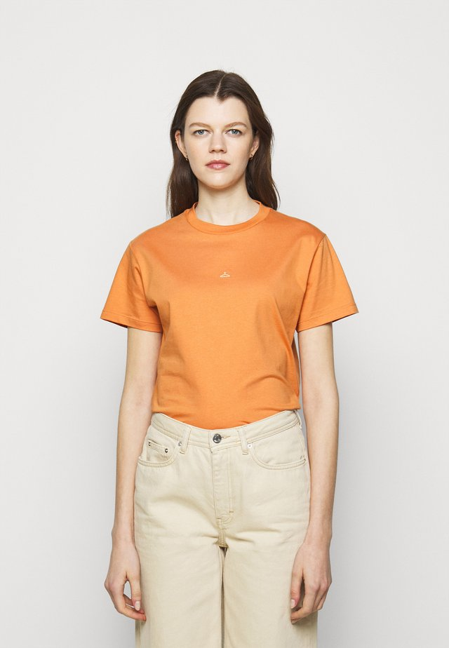 SUZANA TEE - T-shirt con stampa - orange