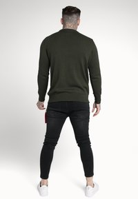 SIKSILK - CREW - Jumper - dark green