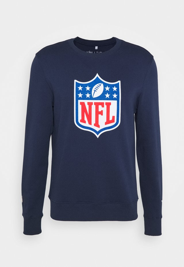 NFL ICONIC PRIMARY COLOUR LOGO GRAPHIC CREW  - Squadra - navy