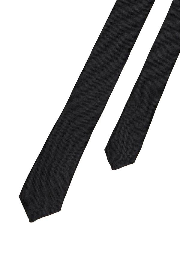 Tiger of Sweden TIDO5 - Krawat - black/czarny Odzież Męska PAZR