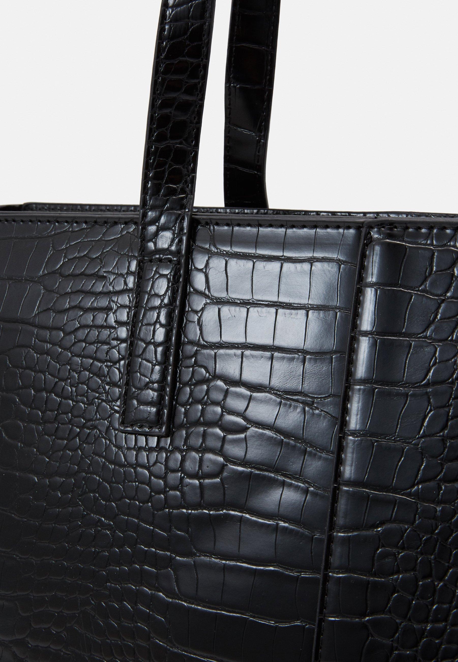 Gina Tricot ISABELLE - Shoppingveske - black/svart 6XUr2OPJ3ZxKIji