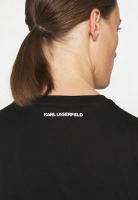 KARL LAGERFELD - IKONIK OUTLINE - T-Shirt print - black - 3