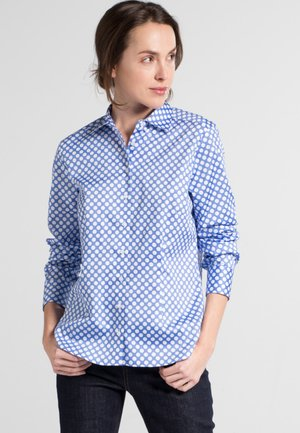 MODERN CLASSIC - Button-down blouse - light blue