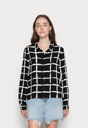 PIPPA SHORT - Blouse - black, white