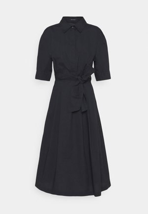 DRESS STYLE BELTED WAIST - Shirt dress - dark blue