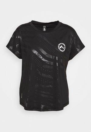 ONPONAY TRAINING TEE - Sports shirt - black