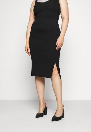JRJUSTA MIDI SKIRT - Pencil skirt - black