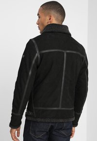 Gipsy - AIR FORCE - Leather jacket - schwarz - 2