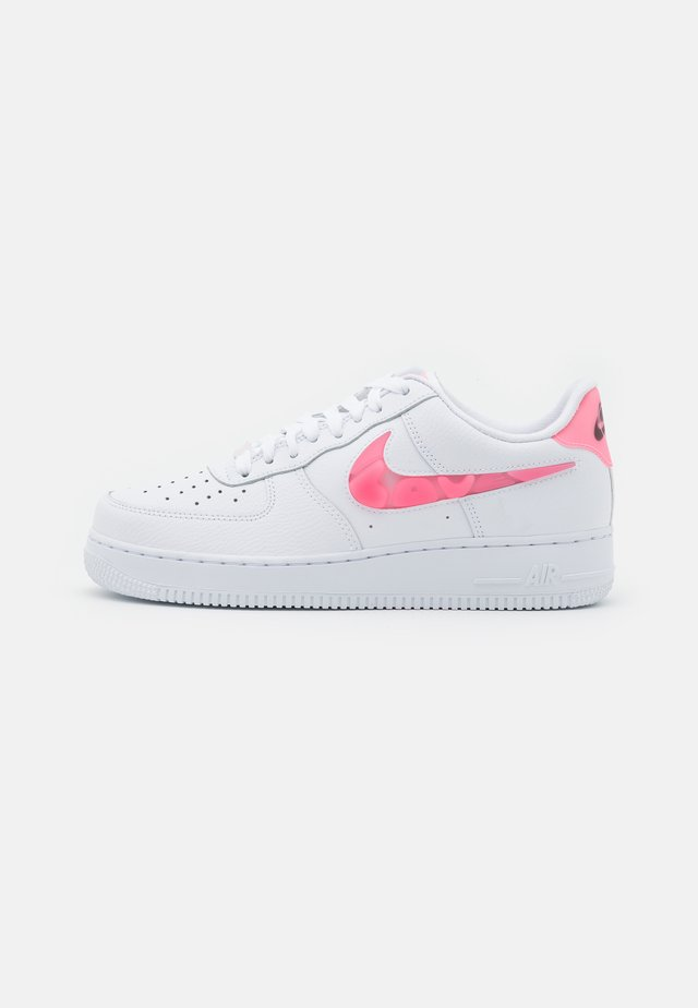 AIR FORCE 1 - Sneaker low - white/sunset pulse/black/clear