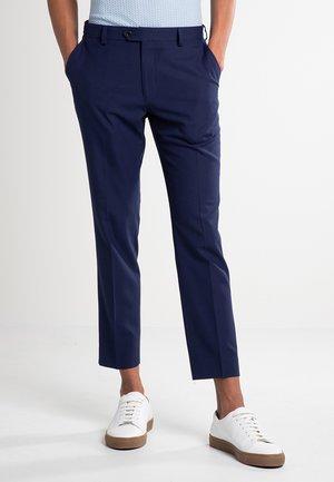 SUIT TROUSERS - Oblekové kalhoty - dark blue