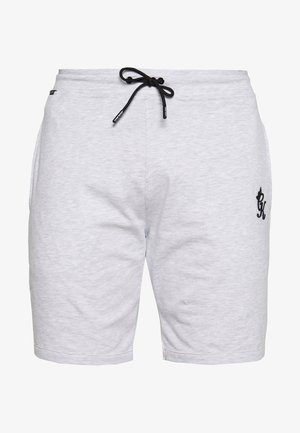 Tracksuit bottoms - snow marl