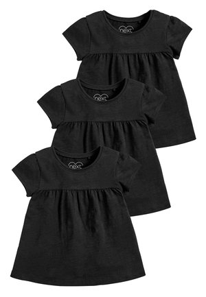 WHITE 3 PACK 3 PACK EMPIRE LINE T-SHIRTS (3MTHS-8YRS) - Print T-shirt - black