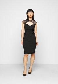 SISTA GLAM PETITE - LOTTIE - Cocktail dress / Party dress - black - 0